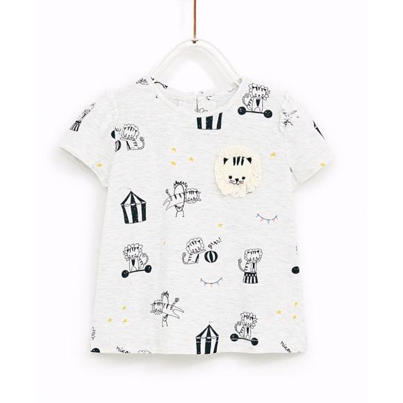 49f223bf Zara Shirts & Tops   Baby Circus Tshirt Size 36m   Poshmark